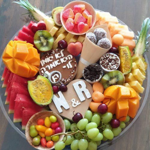 מגשי פירות משולבים 350 ב