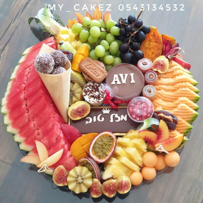 מגש פירות משולב 350 א