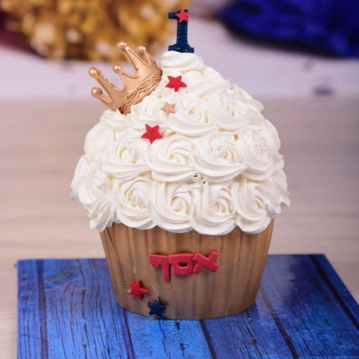 עוגה קטנה מעוצבת לאסף